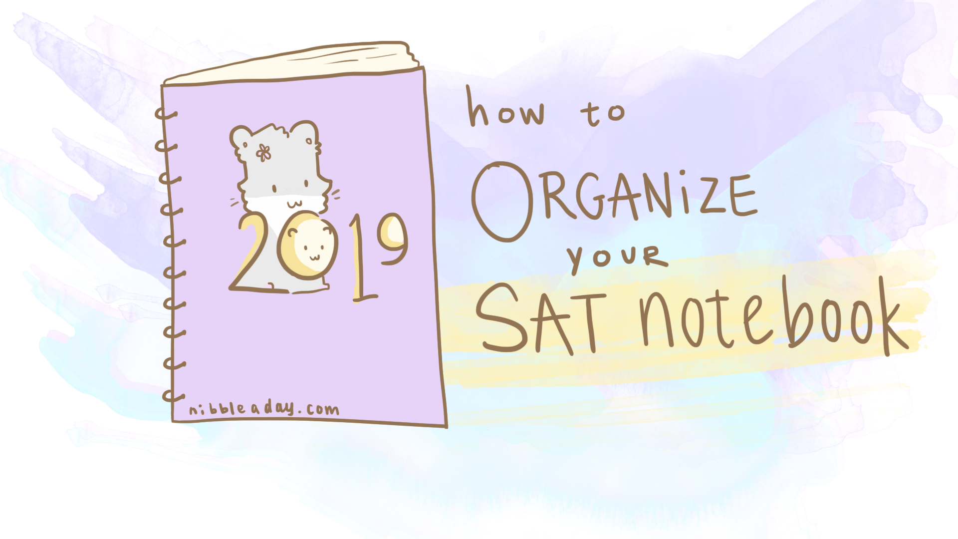 How to Organize Your SAT Notebook